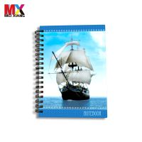High quality lenticular 3d notebook with 3d effect cover