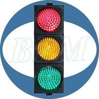 RYG ball traffic signal controller fresnel lens thumbnail image