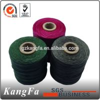 Hot selling 210D/3 1mm waxed thread for handicraft works