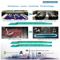 Fabric and Dye sublimation printed fabric laser cutting by Unikonex thumbnail image