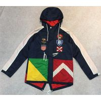 Men's Multi Color Quilted Fishtail Parka Jacket