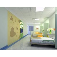 Cubicle curtain with disposable, surgical curtain