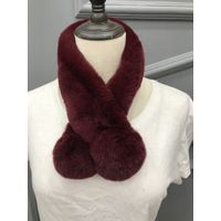 Fashionable Rex Rabbit Fur Scarf Model : RRS08008