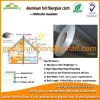 Fiberglass cloth insulation aluminium blanket thumbnail image