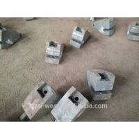 Ni-hard Cast Iron Lip Liners with Hardness More Than HRC56 For Grinding Mill