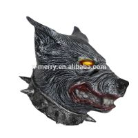 X-MERRY TOY Scary Wolf Head Mask Latex Rubber Creepy Werewolf Halloween Party Costume Decorations x1