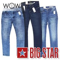 BIG STAR jeans for women and men at wholesale price