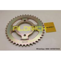ALDRICH SPROCKET, 45# STEEL, RELIABLE QUALITY!