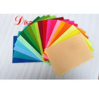 Eco-friendly DIY Colorful die cut different shapes and sizes polyester felt craft sheet thumbnail image