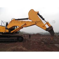 Large Loader Excavator Dipper Arm / Rock Arms Excavator Attachments