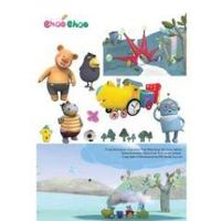 3B_1Korea Animation Choo Choo Train Wall decor