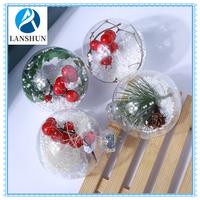 Christmas Decoration Plastic Ball LED light
