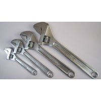 bare handle adjustable wrench