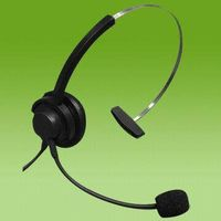 Professional for Call Center Telephone Operator RJ9 RJ11 Contact Center Headset