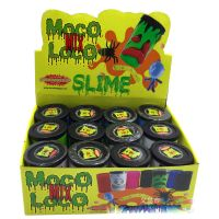 Coloured expression decorative mucus toys