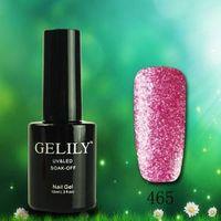 Gado 18 colors Crystal Sand Gel Nail Polish
