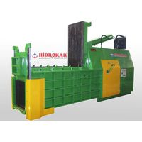 hydraulic metal scrap baling press 80x80 front dump