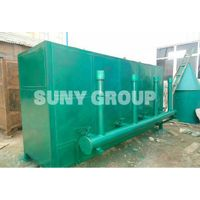 Environmental friendly smokeless large production small consumption carbonization furnace