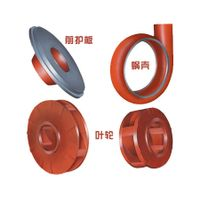 Electric centrifugal pump slurry pump sand pump spare parts