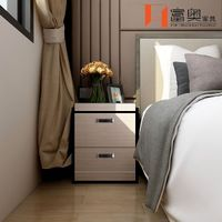 Bedroom Furniture All Aluminum Nightstands Bedside Table thumbnail image