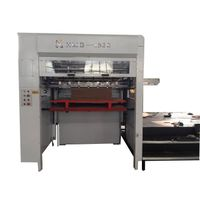 1520mm high quality semi-automatic corrugation die cutting machine
