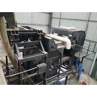 Silica sand color sorting system