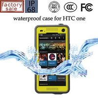 Waterproof shockproof cover case for HTC One M7