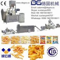 Cheetos/Kurkure/Nik Naks/Corn Curls Snack Food Extruder Machine Production Line thumbnail image