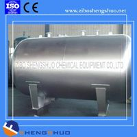 Stainless steel water storage tank used for chemical process