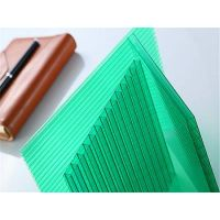 UNIQUE 100%resin material hollow polycarbonate sheet roof sheets price per sheet