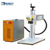 Wisely 50w portable fiber laser machine