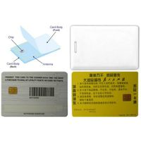 Smart chip card thumbnail image