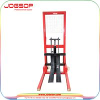 Manual Stacker/Hand Stacker with Double Mast Structure Ce Certificate