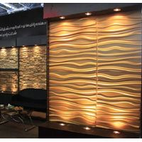 3D effect wall decor panels 3d board