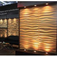 3D effect wall decor panels 3d board