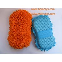 Microfiber Chenille Sponge for Car Care