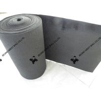 Graphite felt for  vanadium redox flow battery