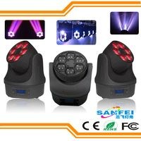 Newest Bee Eye 6PCS*15W LED Zoom Moving Head Lighting (SF-126)