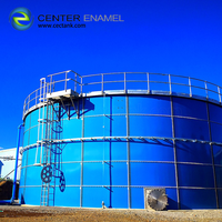 Reliable Glass-Fused-to-Steel Agriculture Water Storage Tank for Irrigation Water Storage