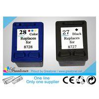 Compatible Black/Color inkjet Cartridge HP 27/28 sales07@hrgroup.hk thumbnail image