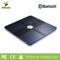 Body fat digital analyzer scale machine bluetooth electric body weighing scale