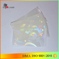 Laminate type Anti-fake Security PVC CARD Holographic Sticker thumbnail image
