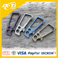 High Quality Straight Type Titanium Carabiner Hook