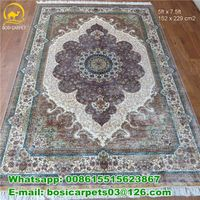 Christmas New Design 230lines Turkish handmade carpet persian silk rugs 400kpsi  Oriental handwoven
