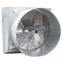 Front shutter door butterfly Cone fan