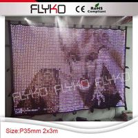 new design amazing pure xxx images led curtain video