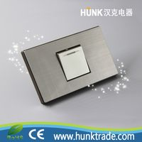 Latest style Wholesale Prices luxry wall 1gang 1way switch