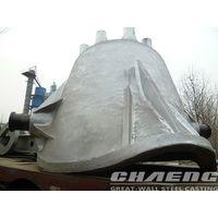 Slag ladle for steel industry