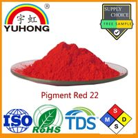 Color Pigment Powder Red 22 Factory and Manufacturer for Ink (Water Based and Flexo ink)