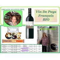 ORGANIC SULFITE FREE FRENCH WINE